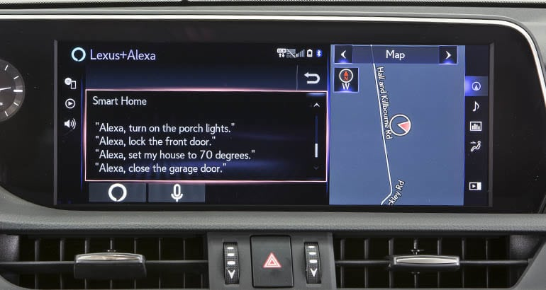Alexa integrated into cars